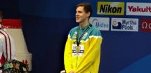 Open news item - Mitch Larkin named FINA Male Swimmer of the Year